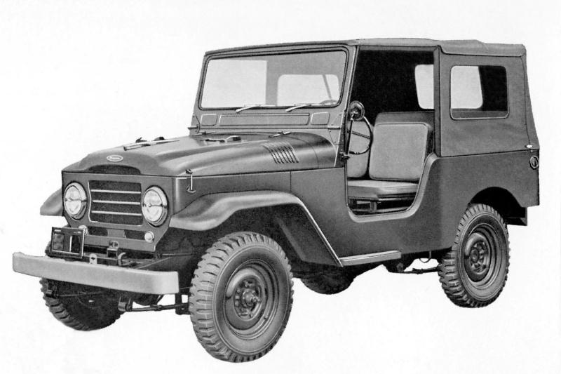 1958 Toyota FJ Cruiser
