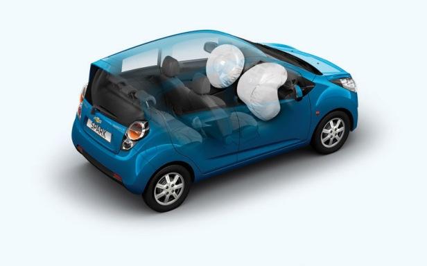 Airbags del Nuevo Chevrolet Spark