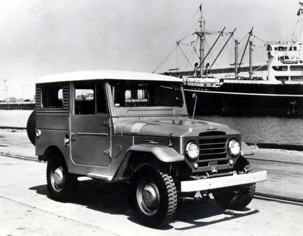 1960 Toyota FJ 40 Land Cruiser