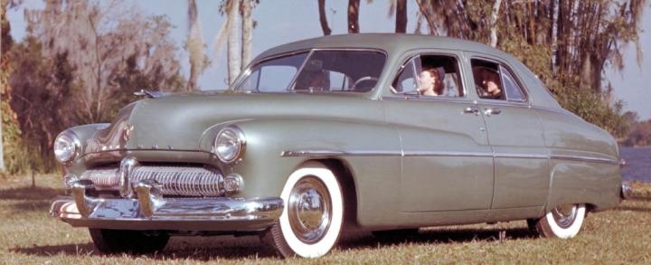 1949 Mercury 4 door coupe
