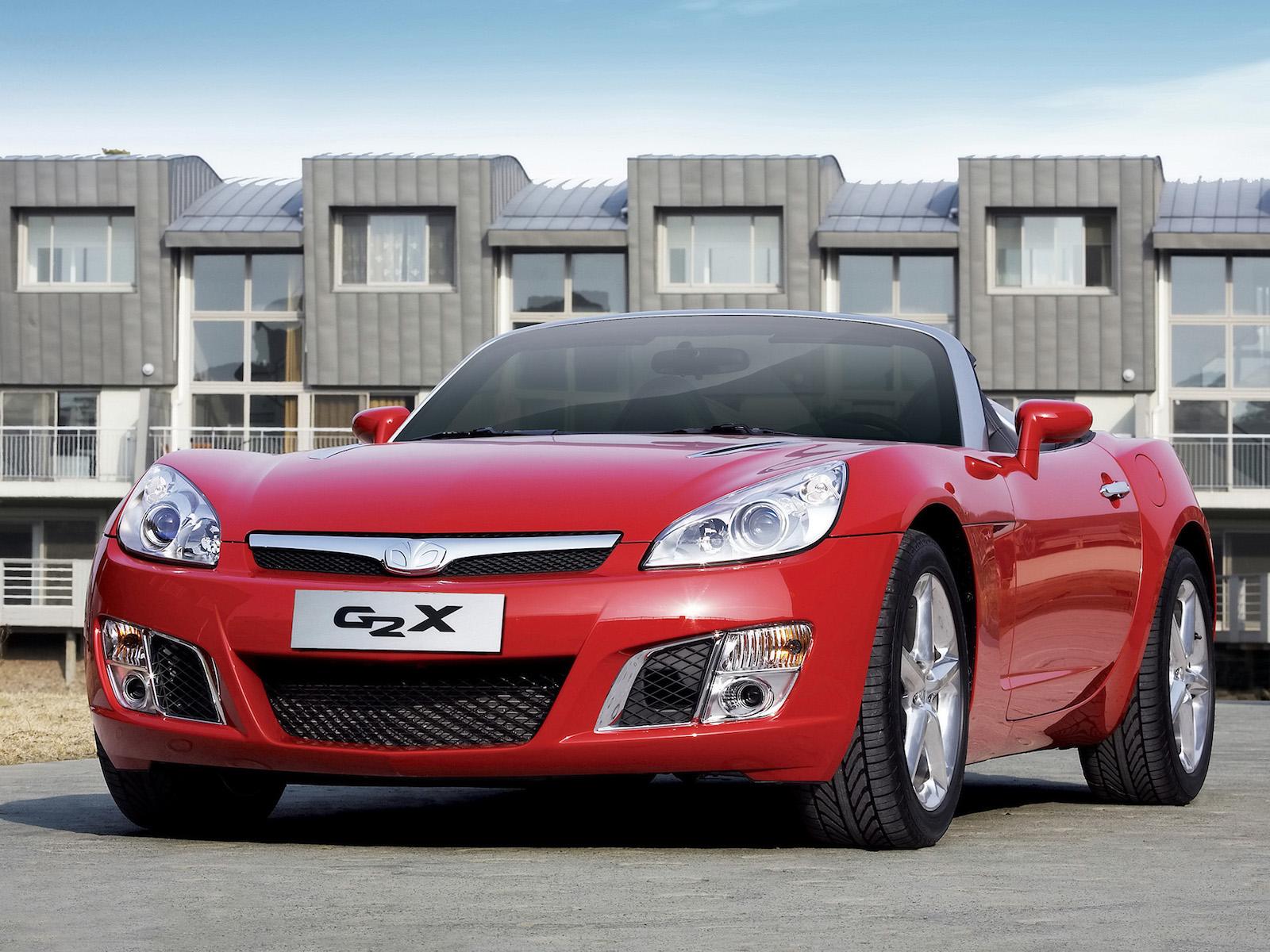 2007 GM Daewoo G2X