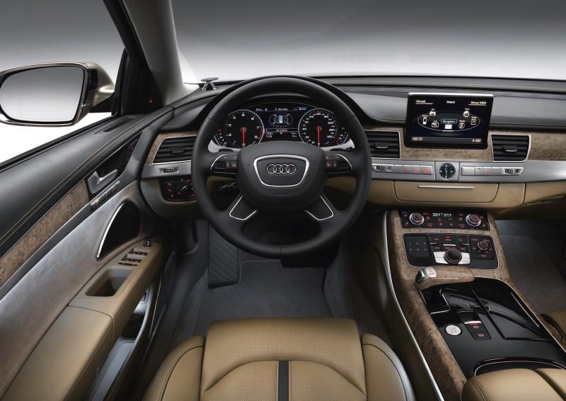 Audi A8 L W12 quattro/Standaufnahme