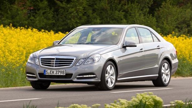 Mercedes Benz neue Antriebe E-Klasse(n)  Efficiency Fahrveranstaltung Deidesheim 2011