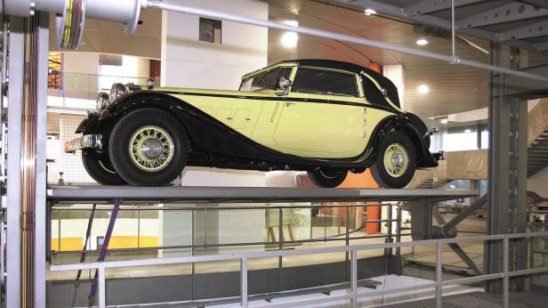"""Das """"museum mobile"""" im Audi Forum Ingolstadt steht unmittelbar vor der Fertigstellung"""